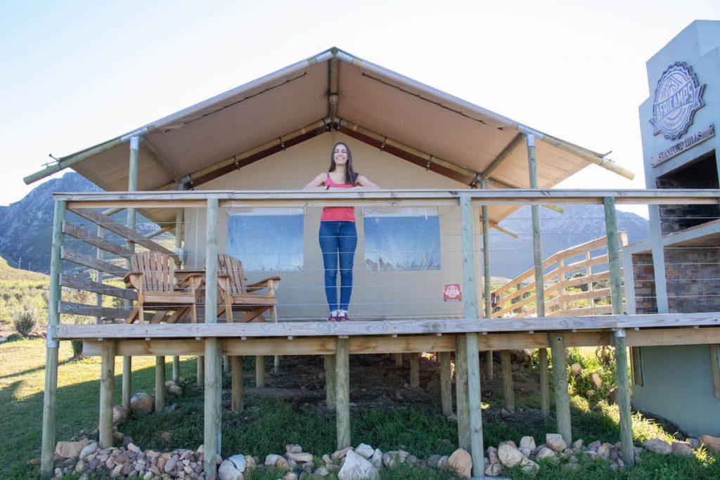 Els allotjaments més unics del Western Cape - Africamps Stanford Hills