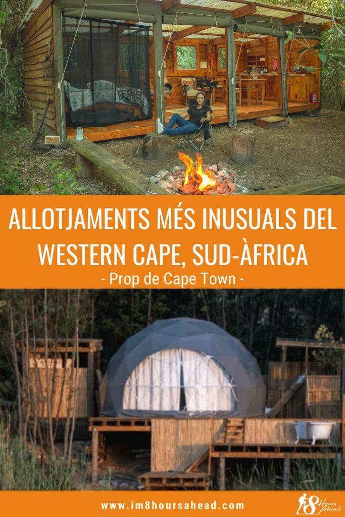 Els allotjaments més únics del Western Cape, Sud-Àfrica
