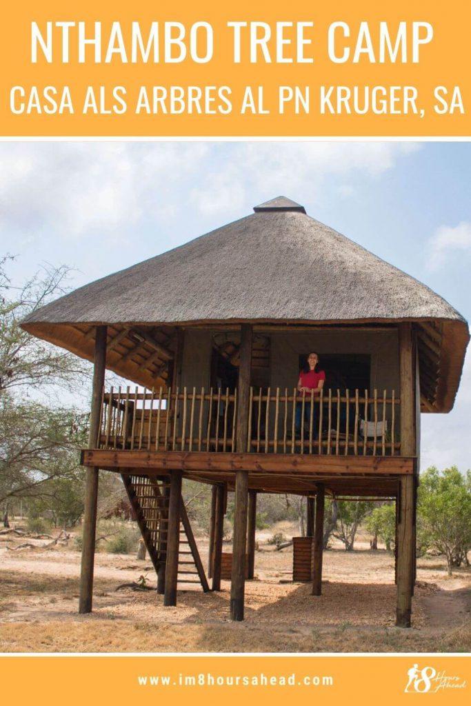 Nthambo Tree Camp casa a l'arbre al Kruger national park, Sud-Àfrica