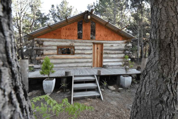 els millors Airbnbs prop de Cape Town, Sud-Àfrica: log cabin