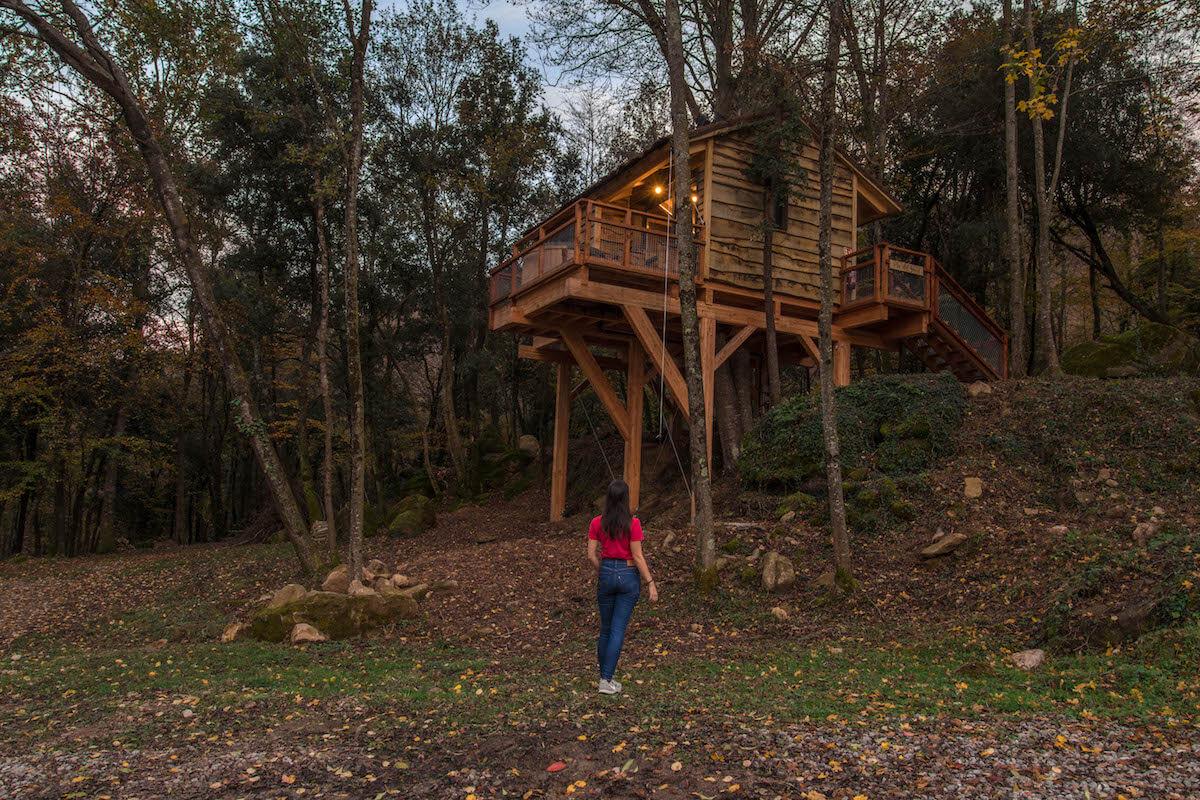 Casa als arbres amb jacuzzi a Cabanyes entre Valls