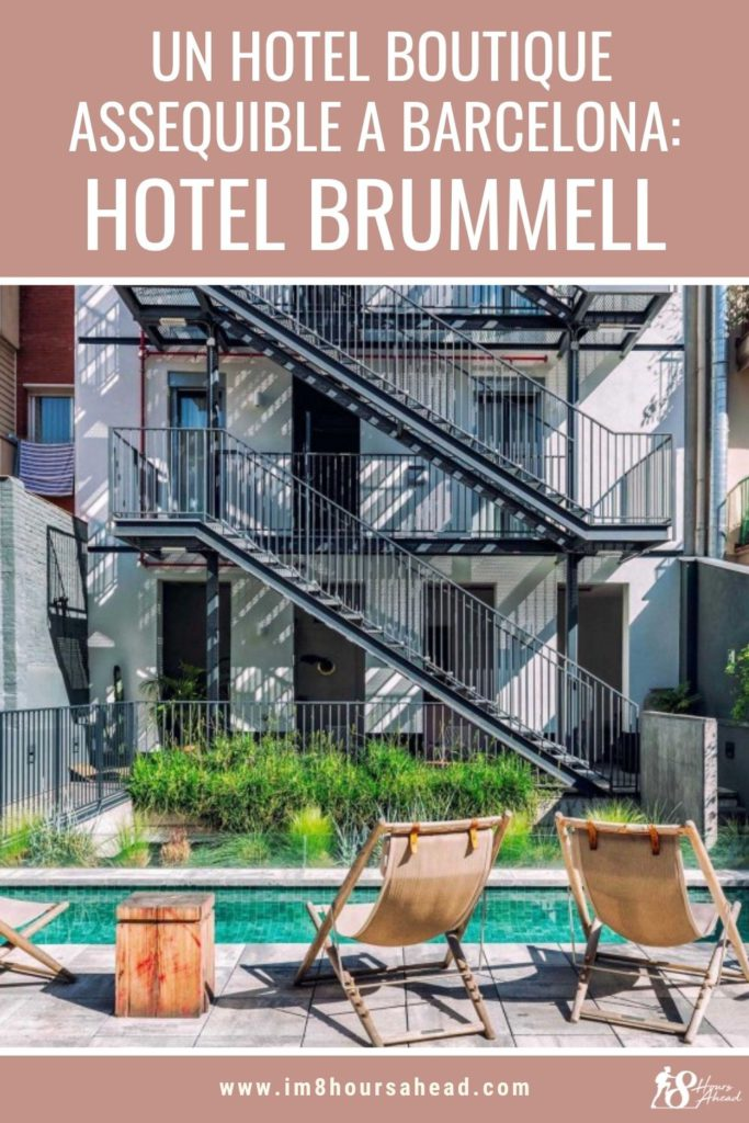 Check in a l'Hotel Brummell, hotel boutique a Barcelona