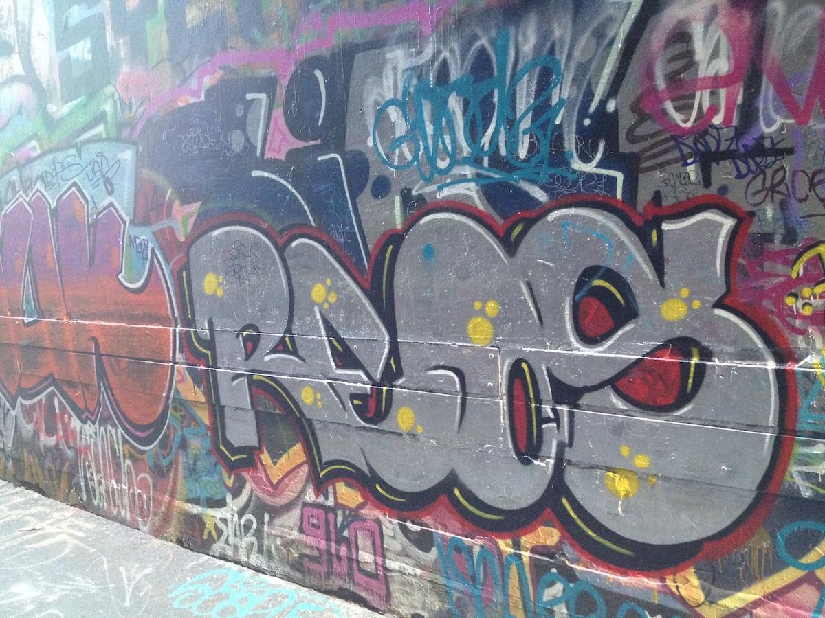 Melbourne graffiti lanes