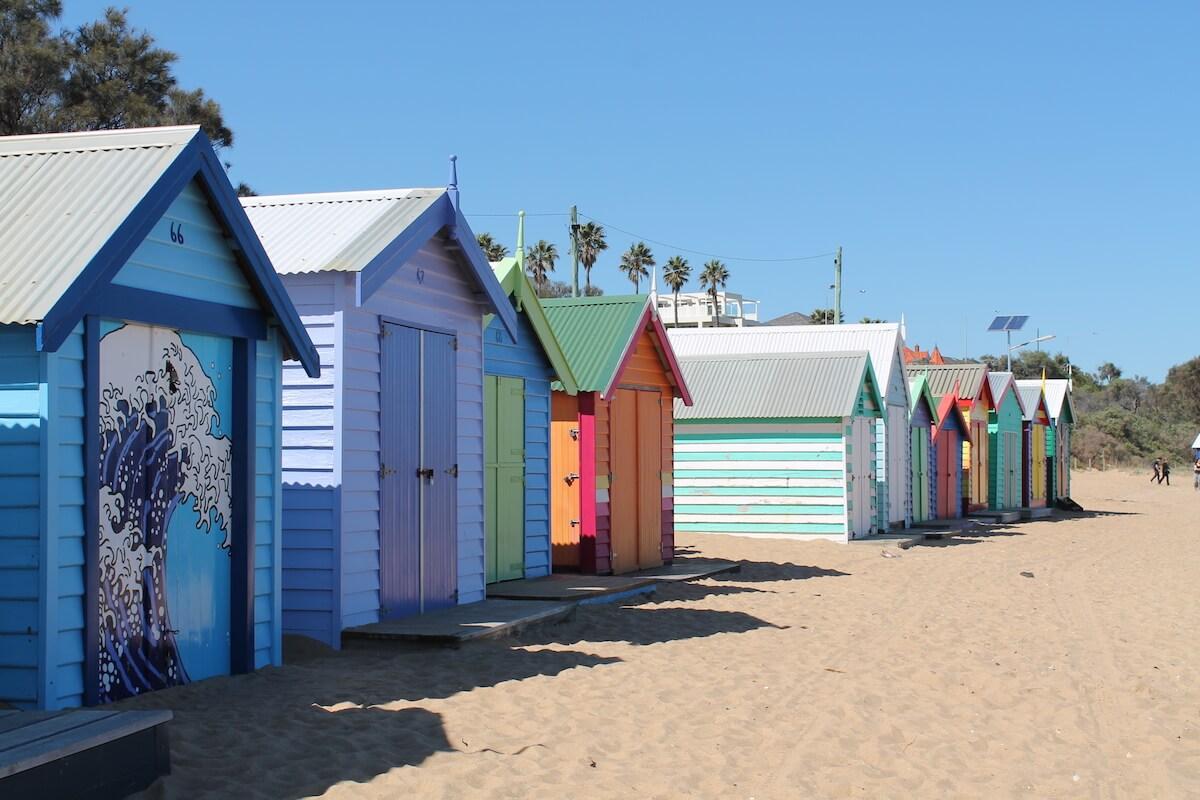 Brighton beach Australia