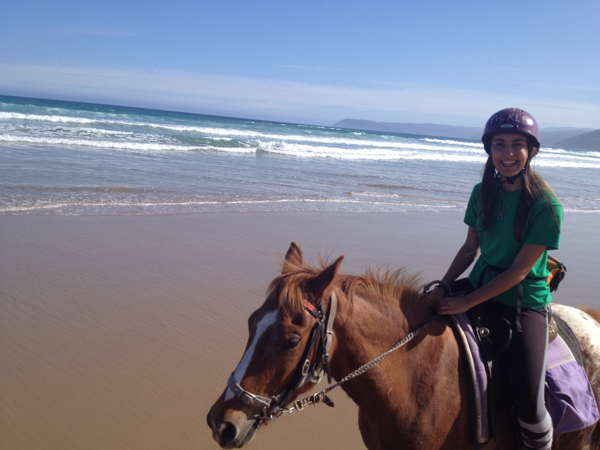Over night horse ride in Aireys Inlet