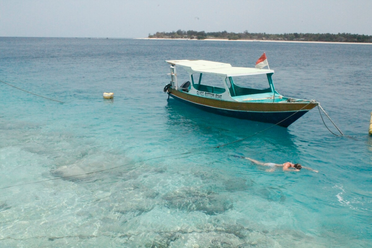 Gili Islands boat