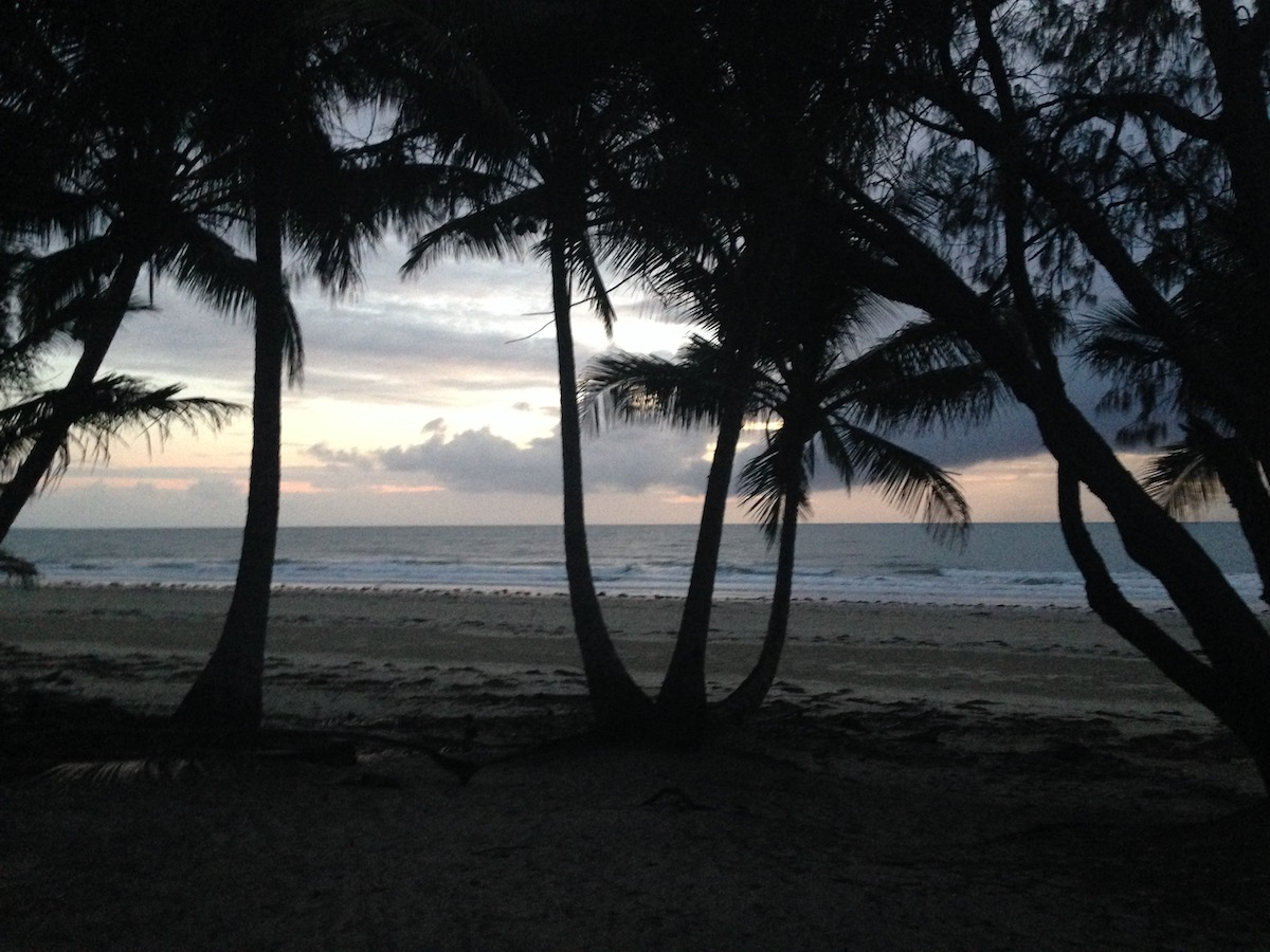 sunrise in Port Douglas
