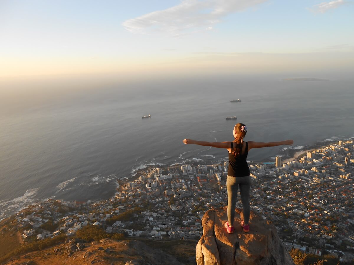 Cape Town first weeks and Lion's Head full moon hike