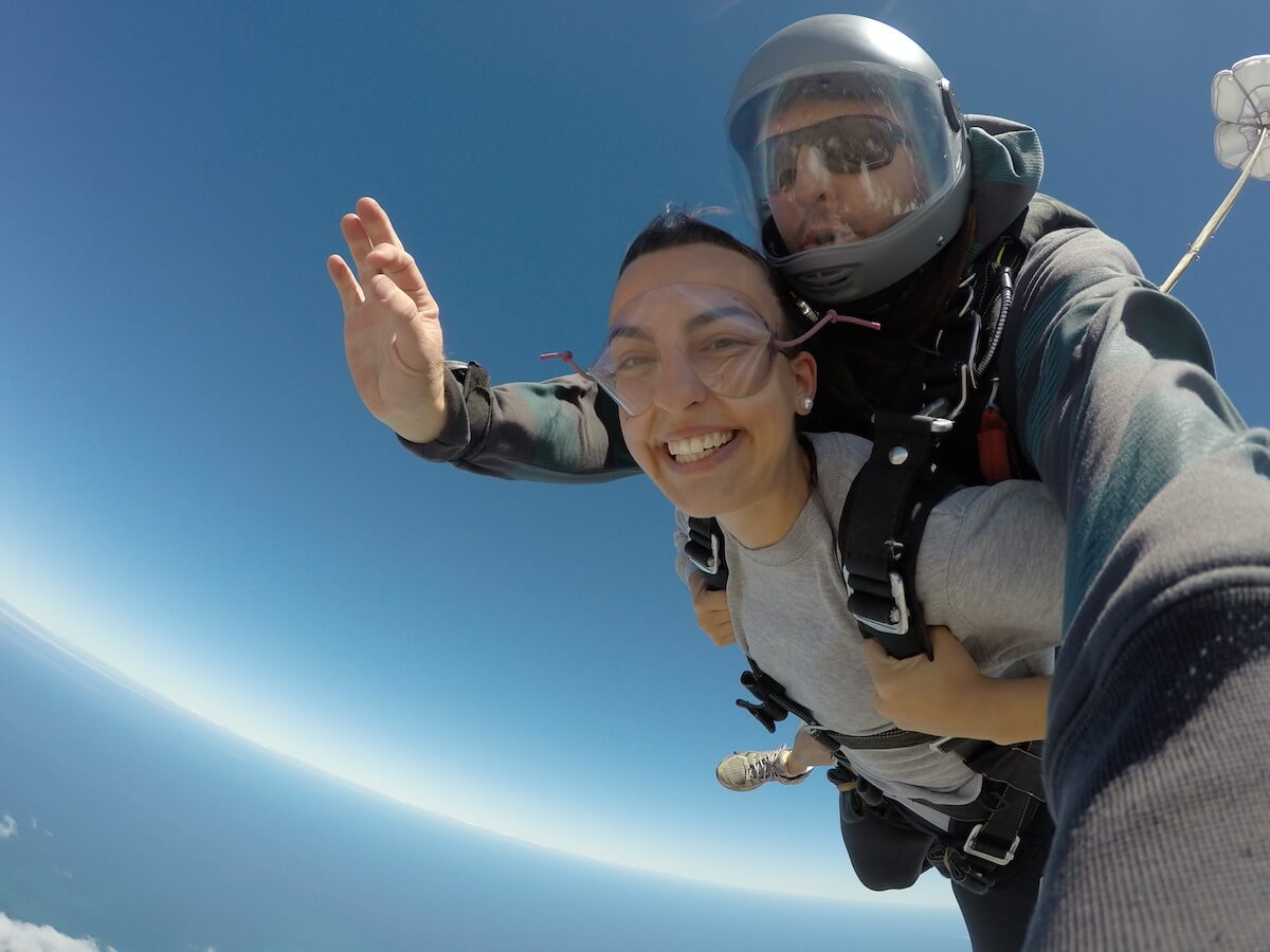 Cape Town skydive