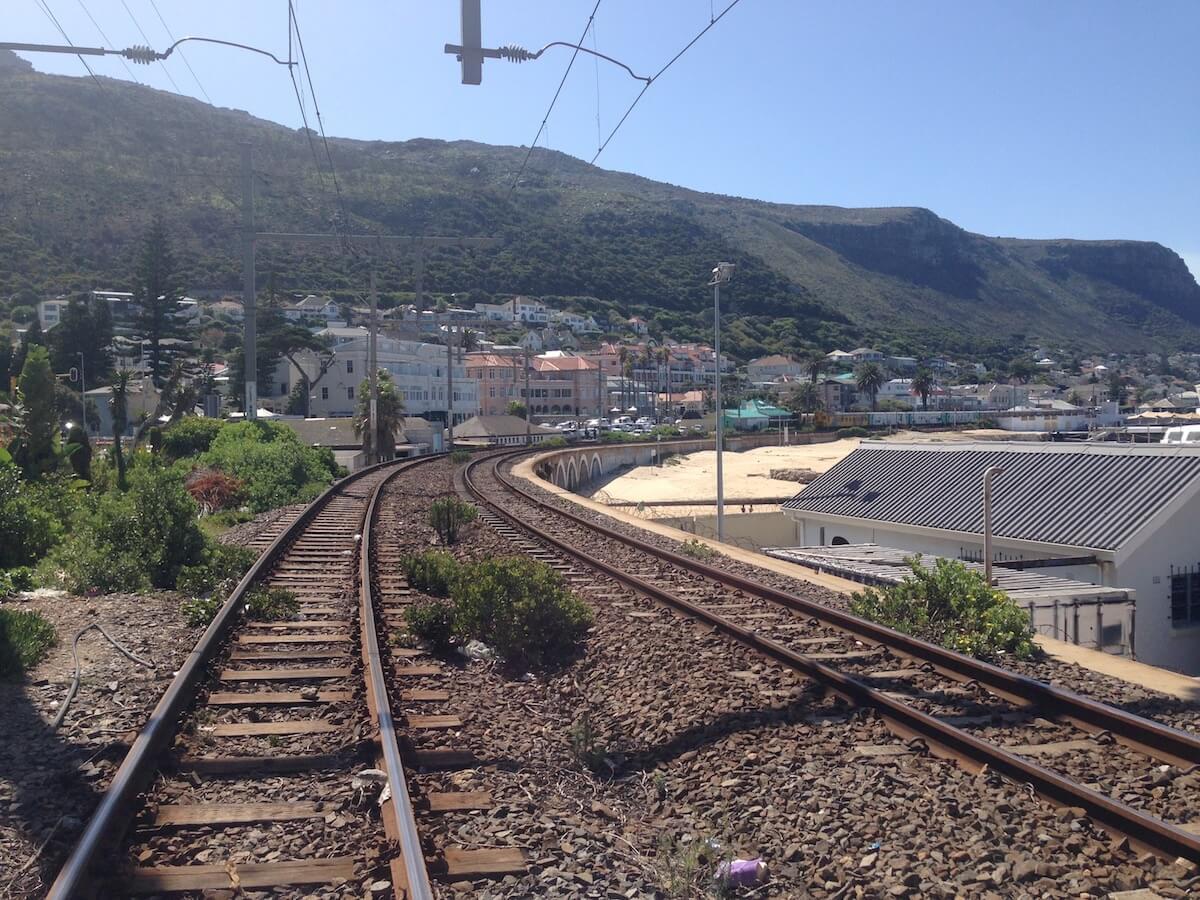 Muizenberg train
