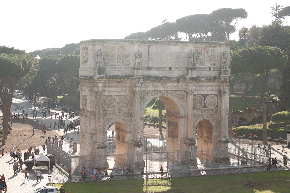 Constantine Arch in Rome