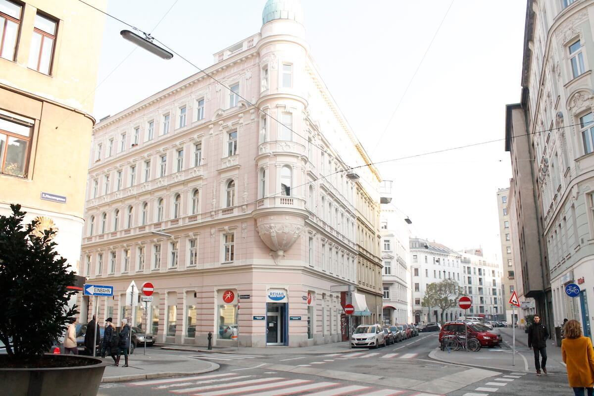 Imperial buildings in Vienna