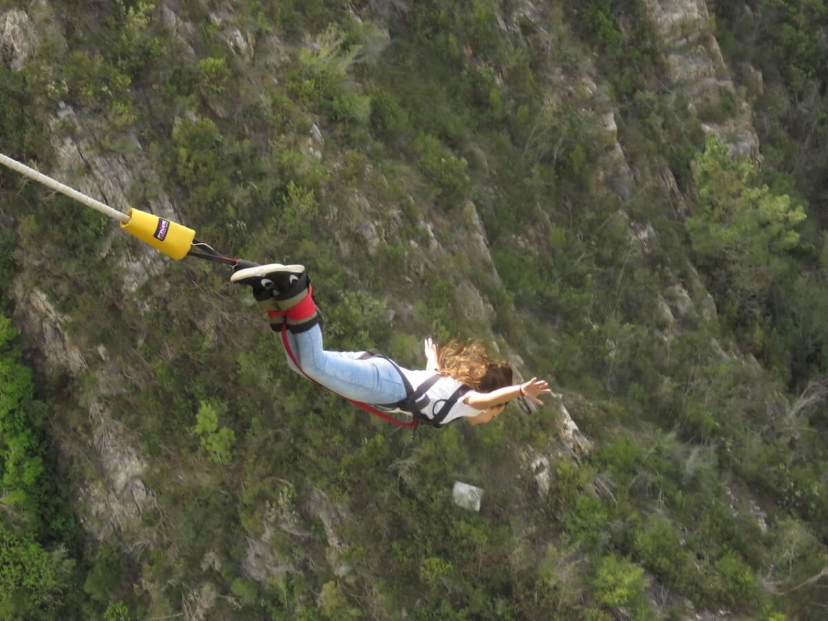 Bloukrans bungy jump