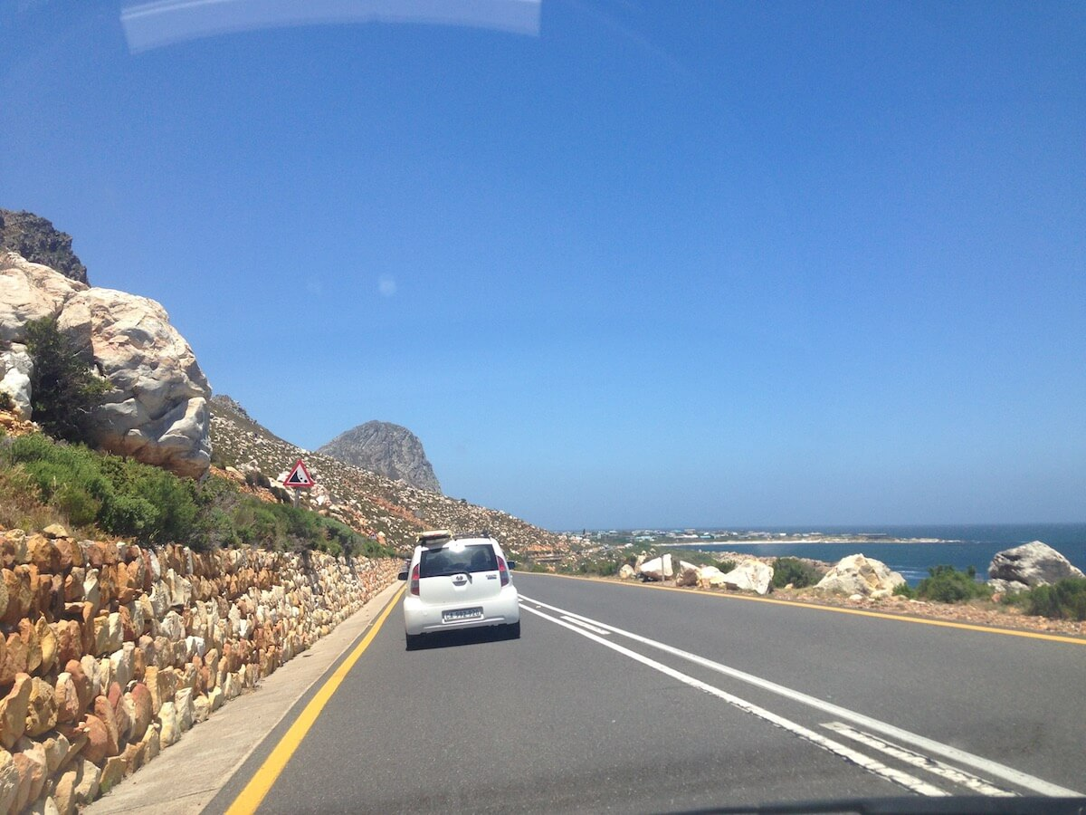 Road trip on the Garden Route