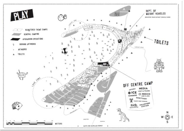 Tankwa Town 2017 map