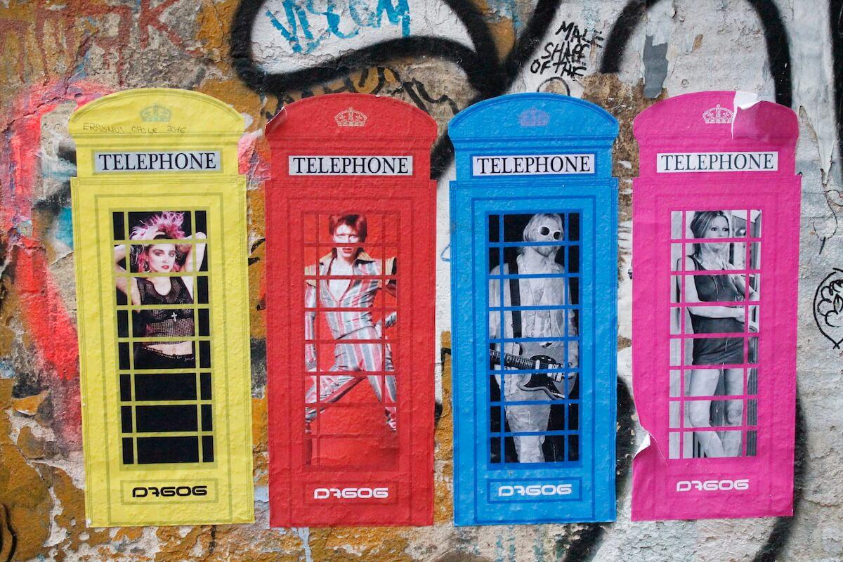 Graffiti art in Berlin