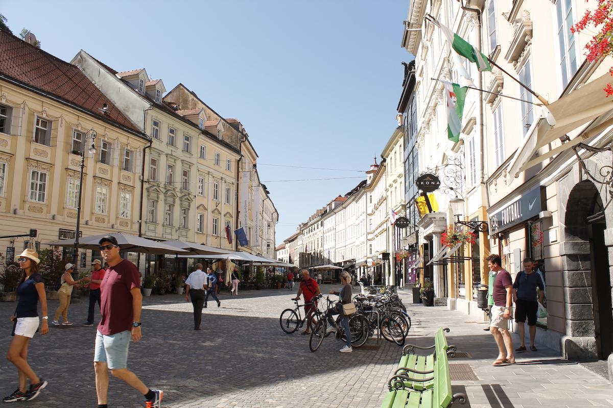 Ljubljana's old town