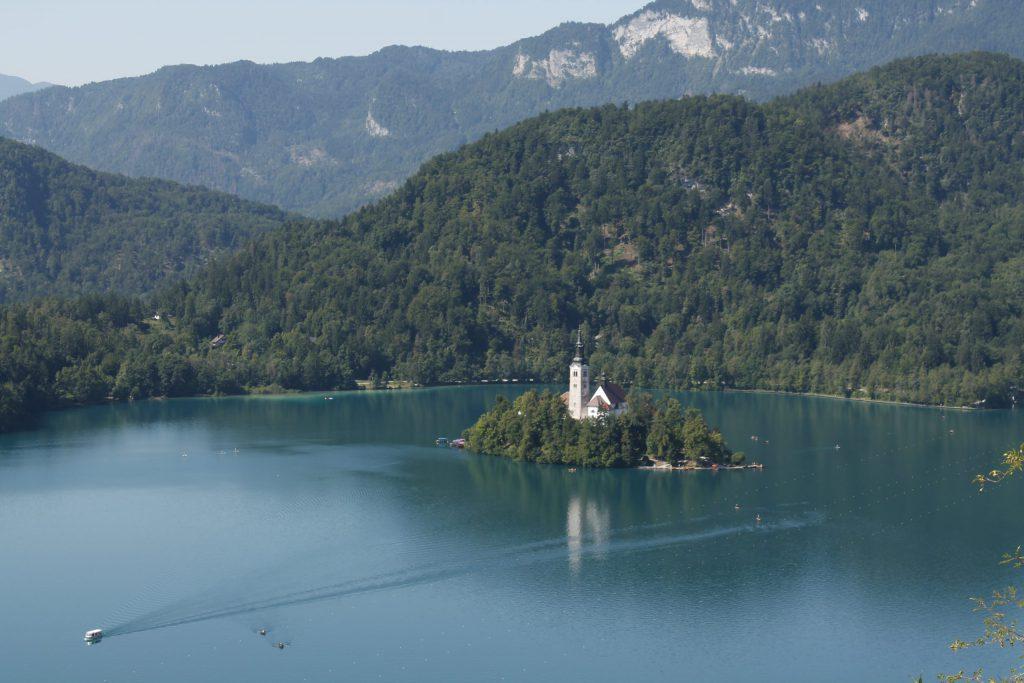Bled Castle views