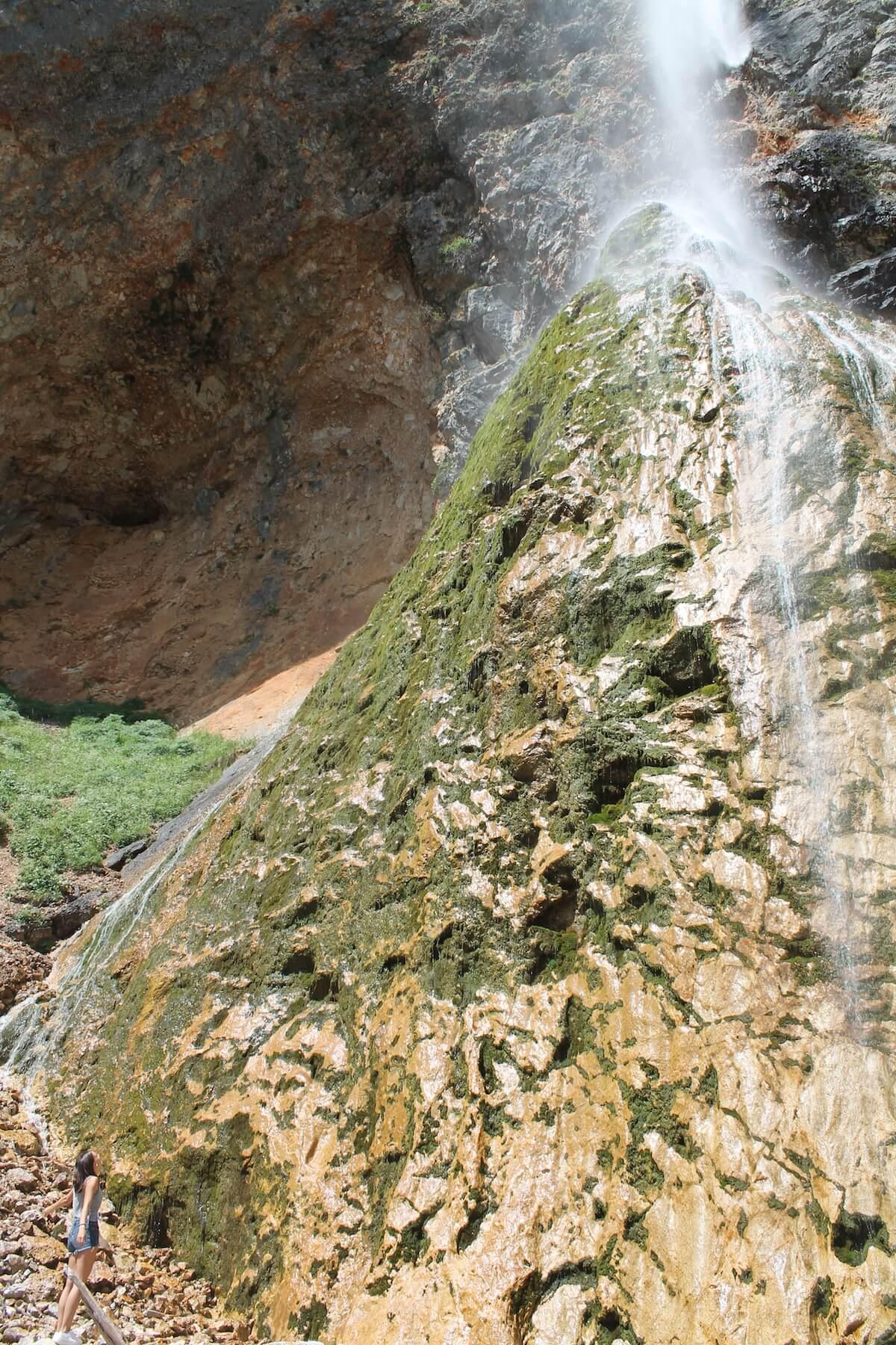 Slap Rinka in Logarska Dolina