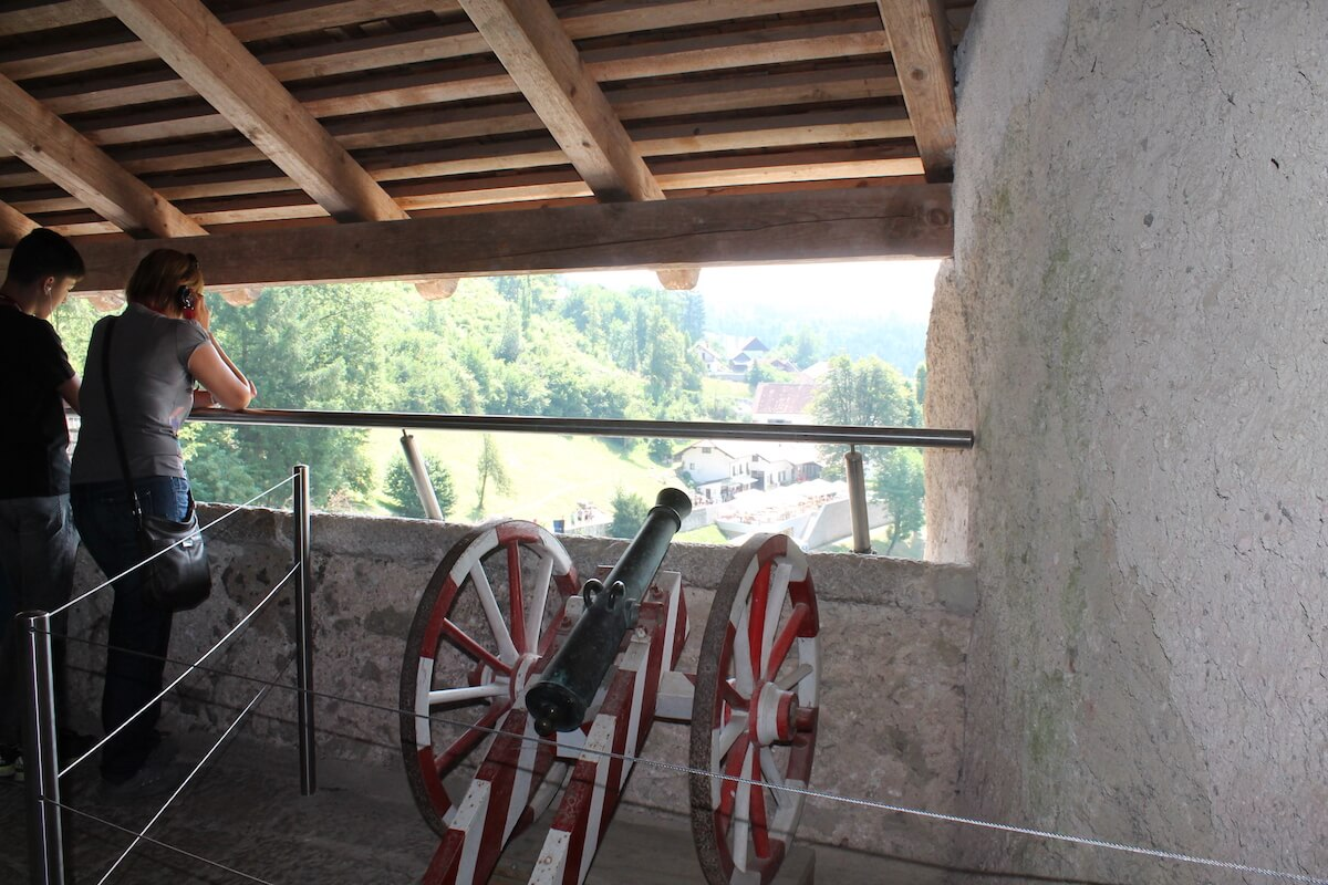 Predjama castle from the inside