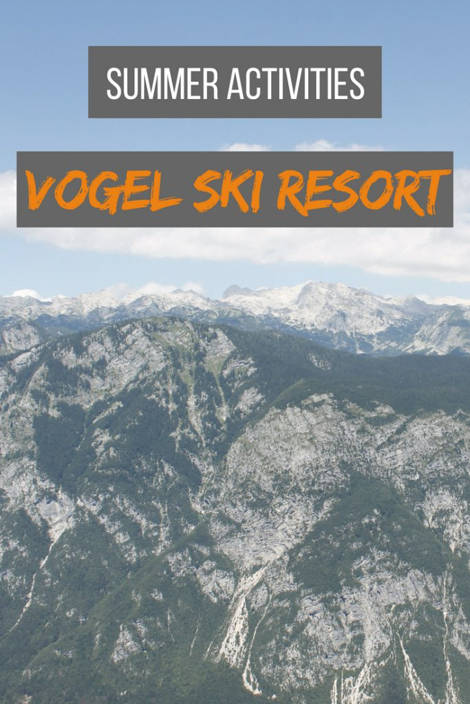 Summer activities in Vogel Ski Resort