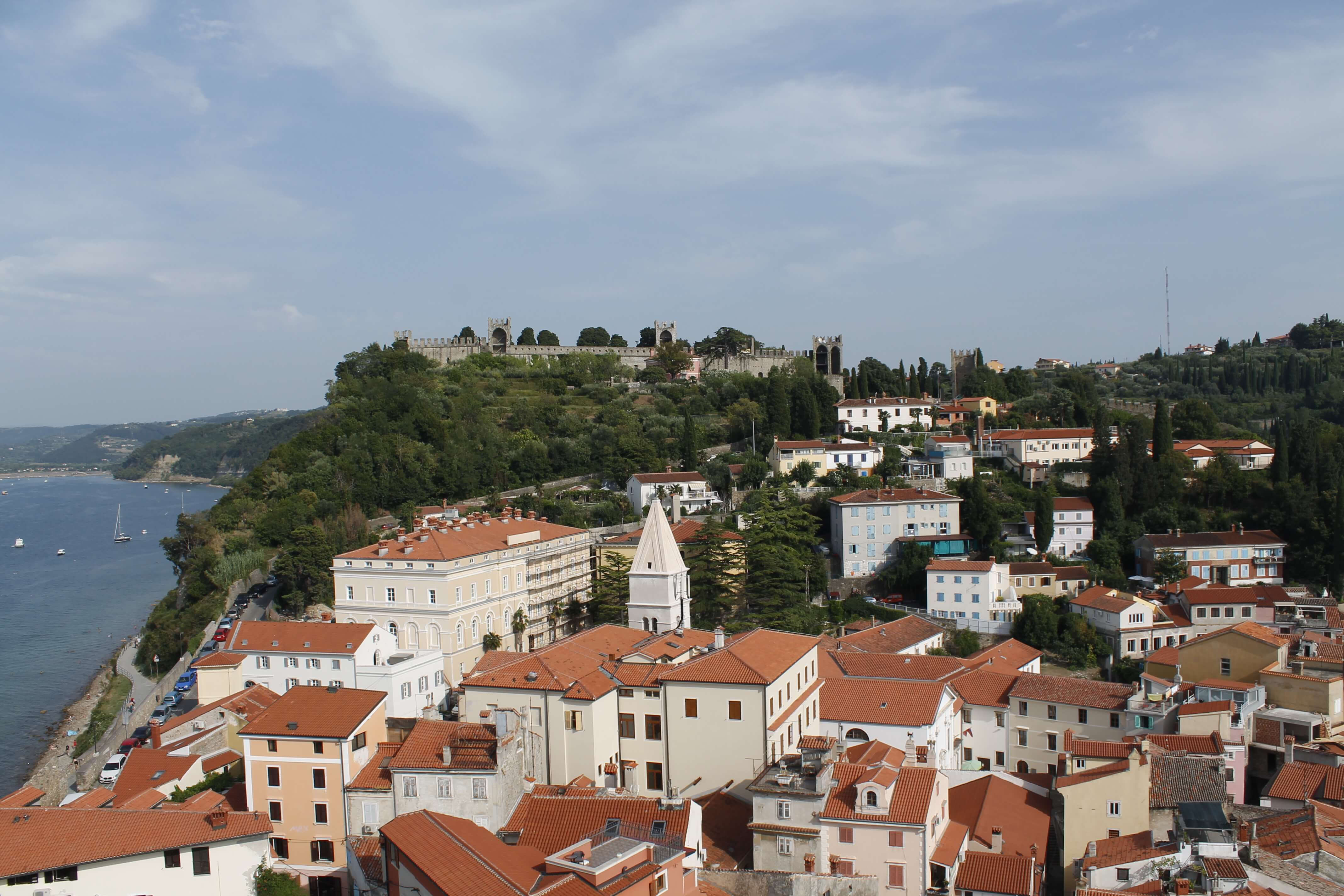 Piran from the bell tower