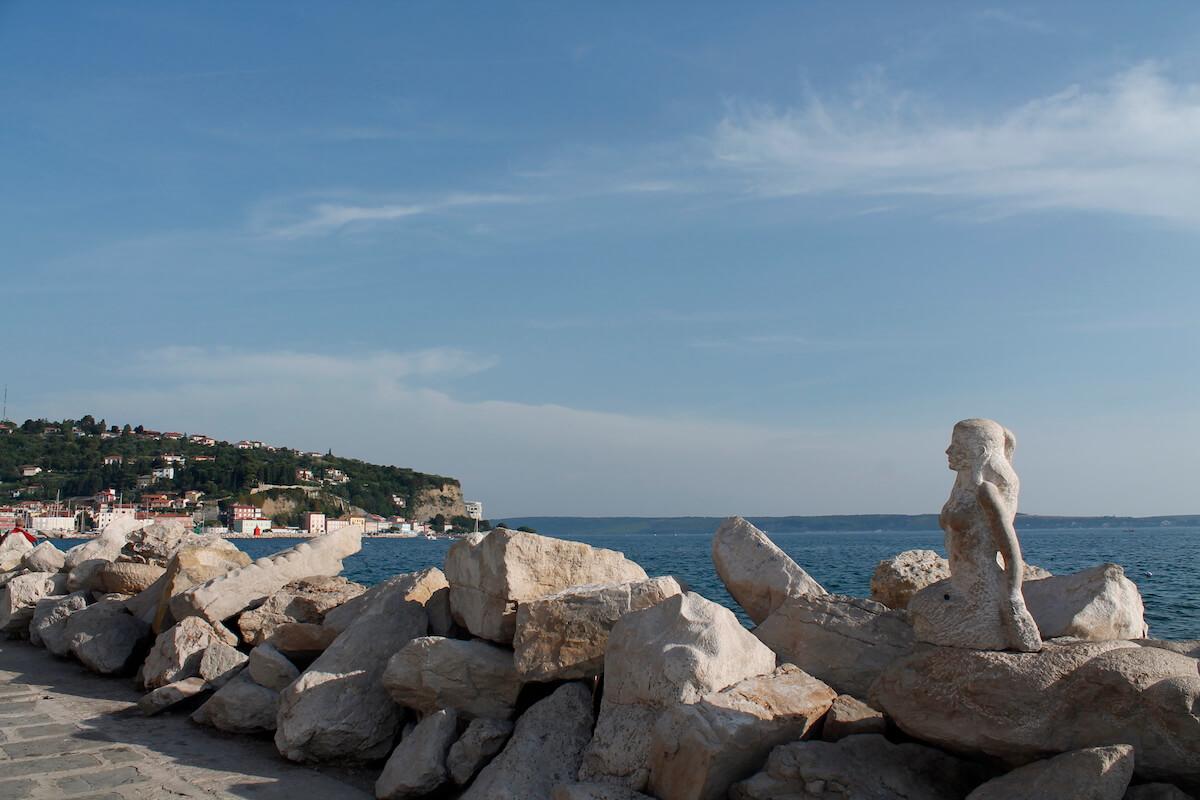 Piran's coast