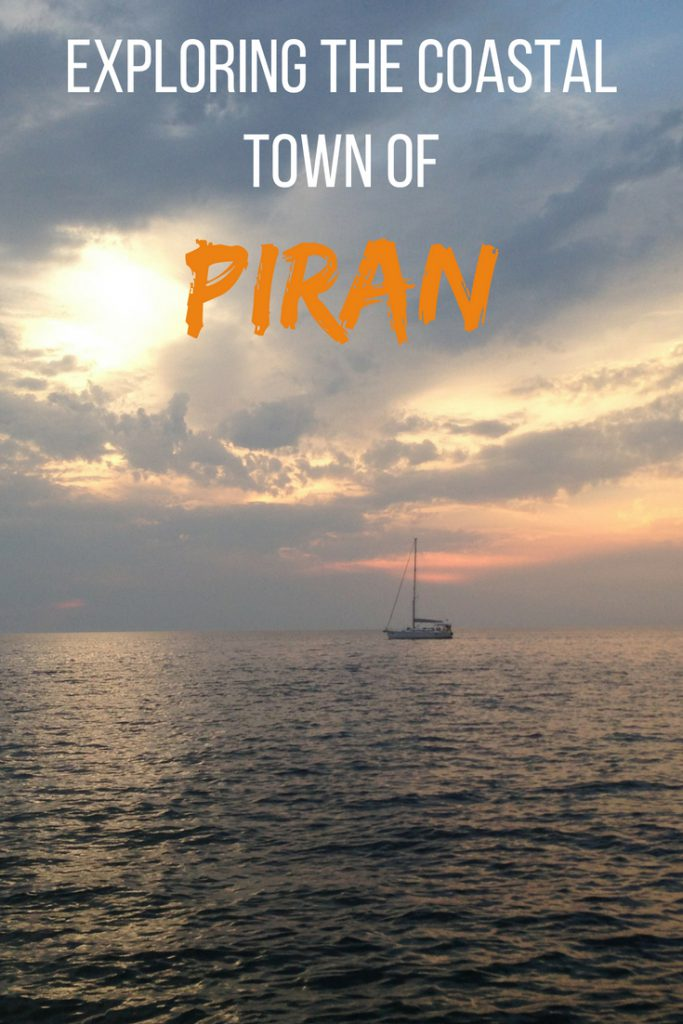 Piran exploring the coastal town