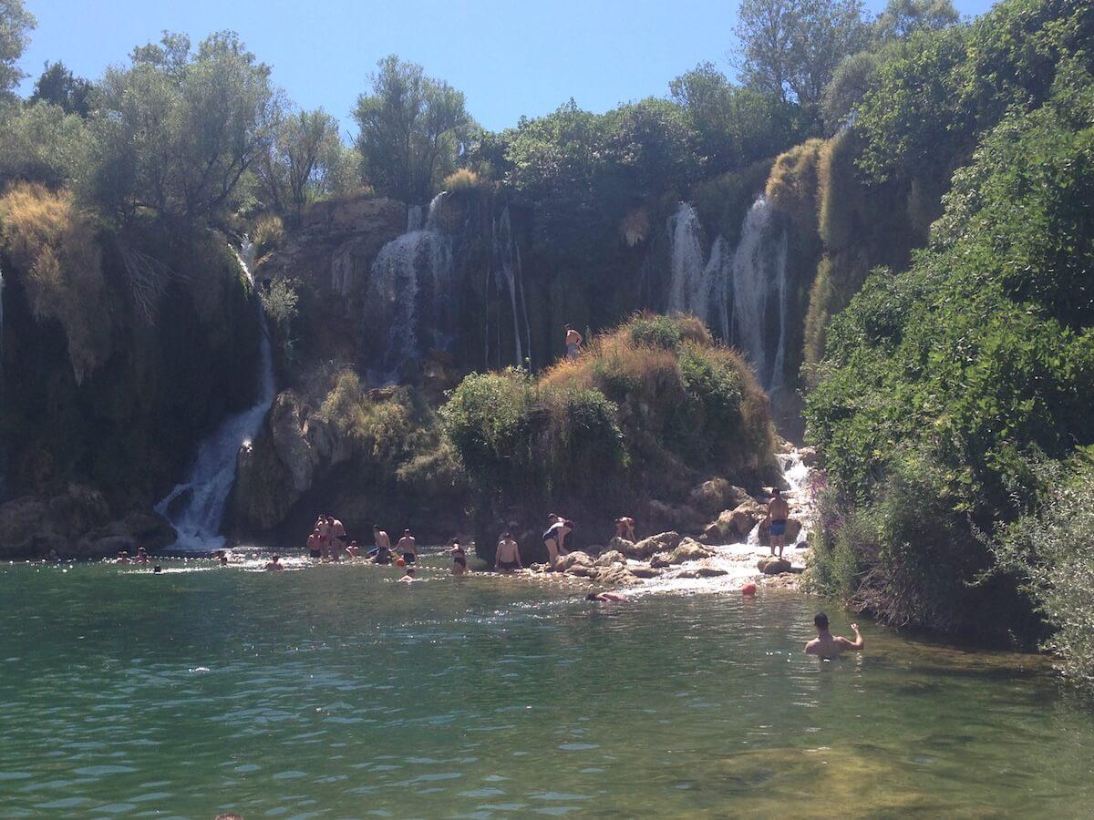 Kravica Waterfalls in Herzegovina