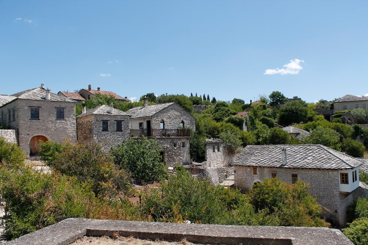 Medieval town of Pocitelj