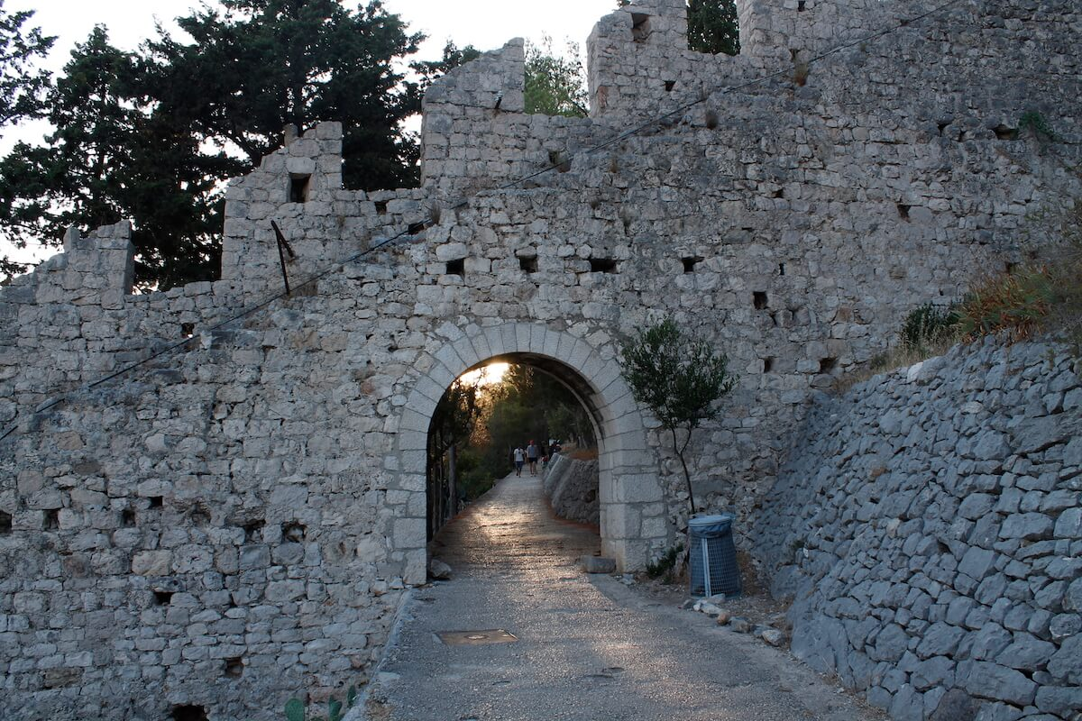Hvar's Spanish fortress