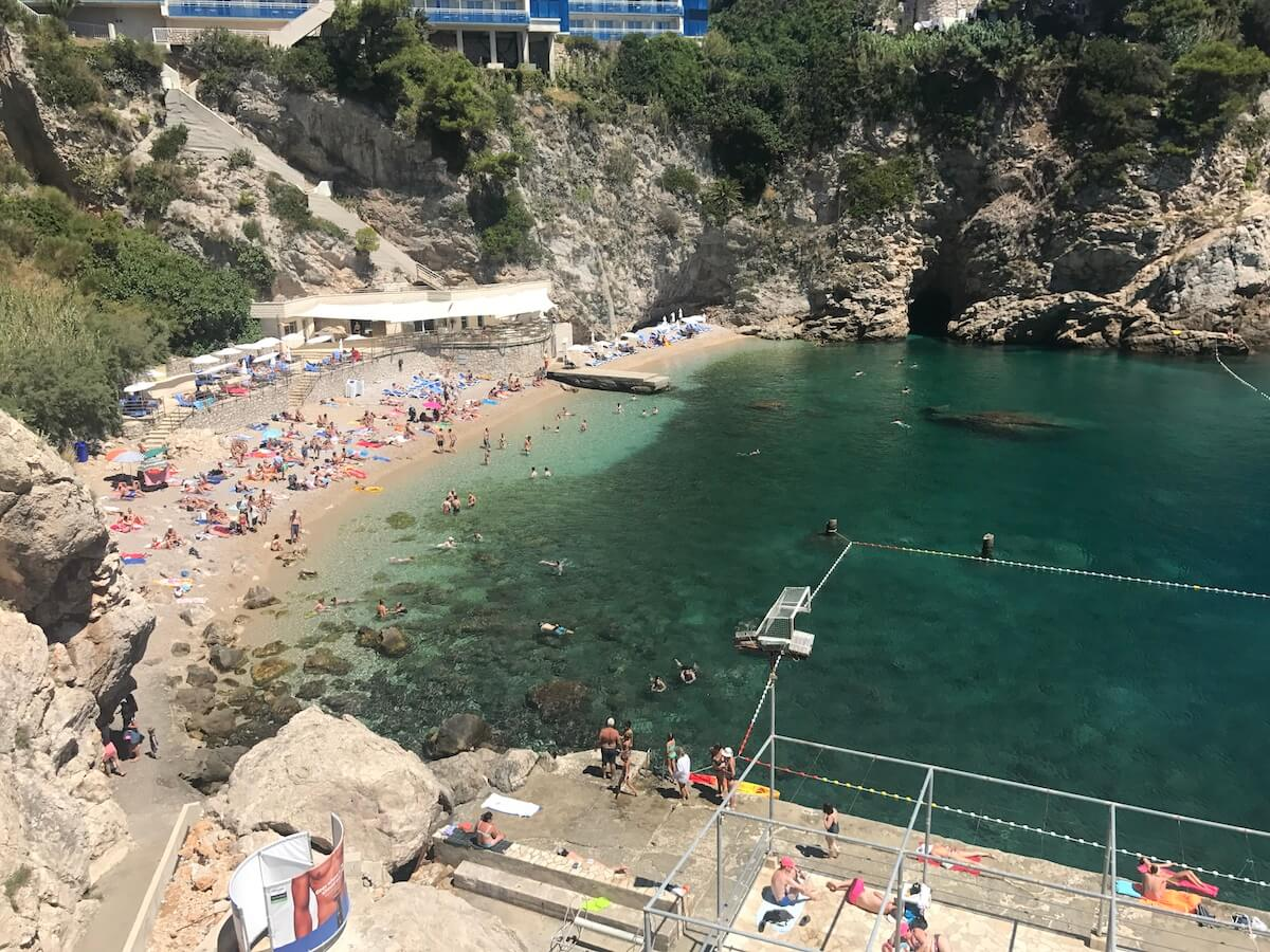 discovering Dubrovnik's beaches