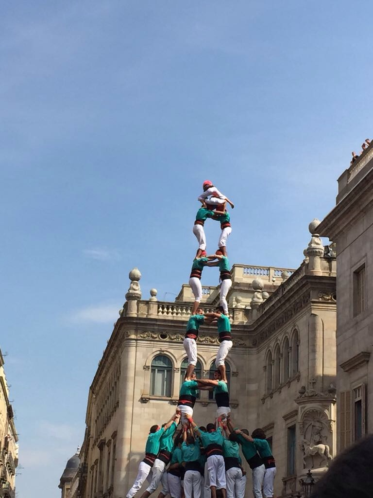 human towers - castellers