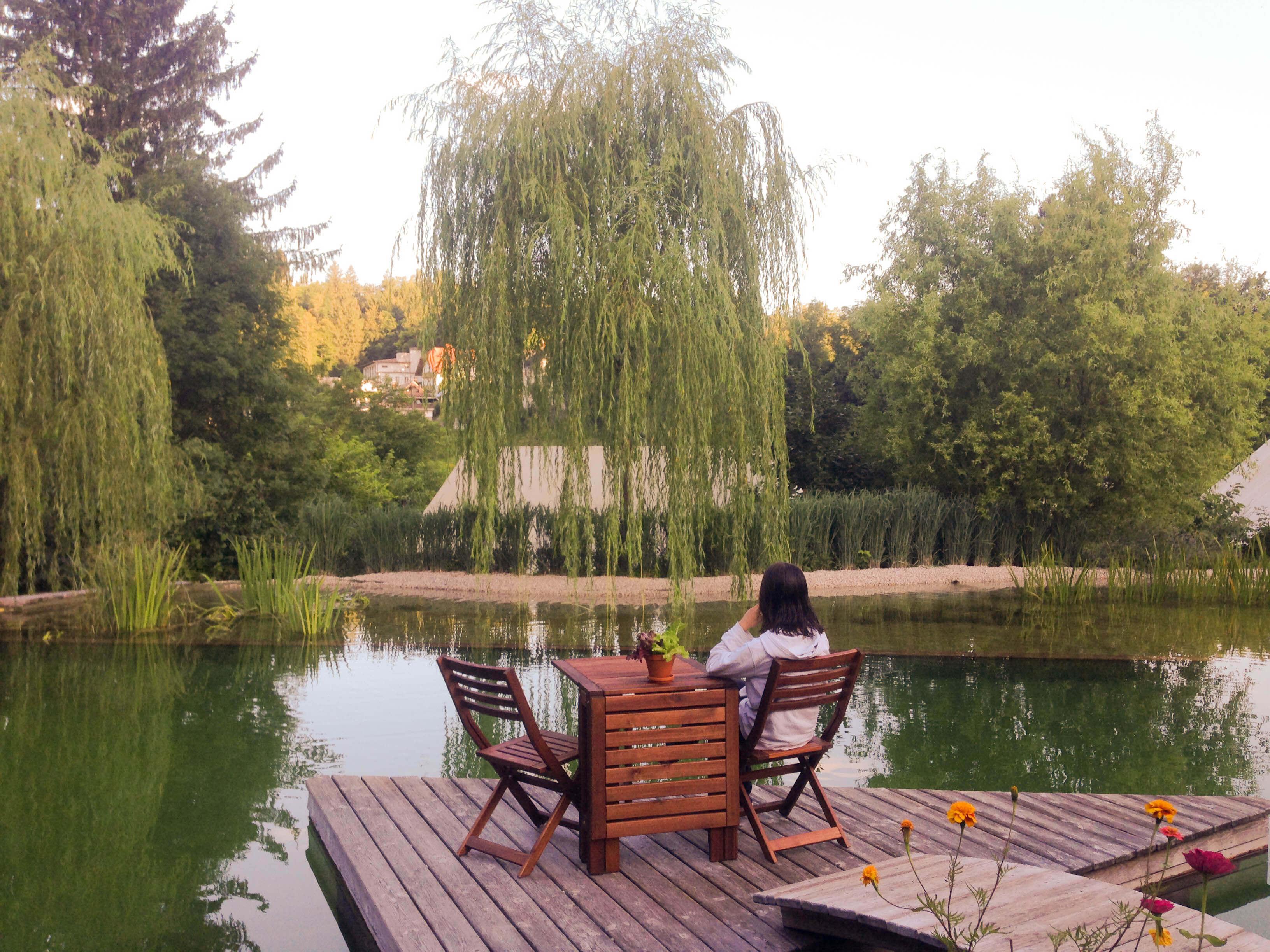 Garden Village Bled VIP table