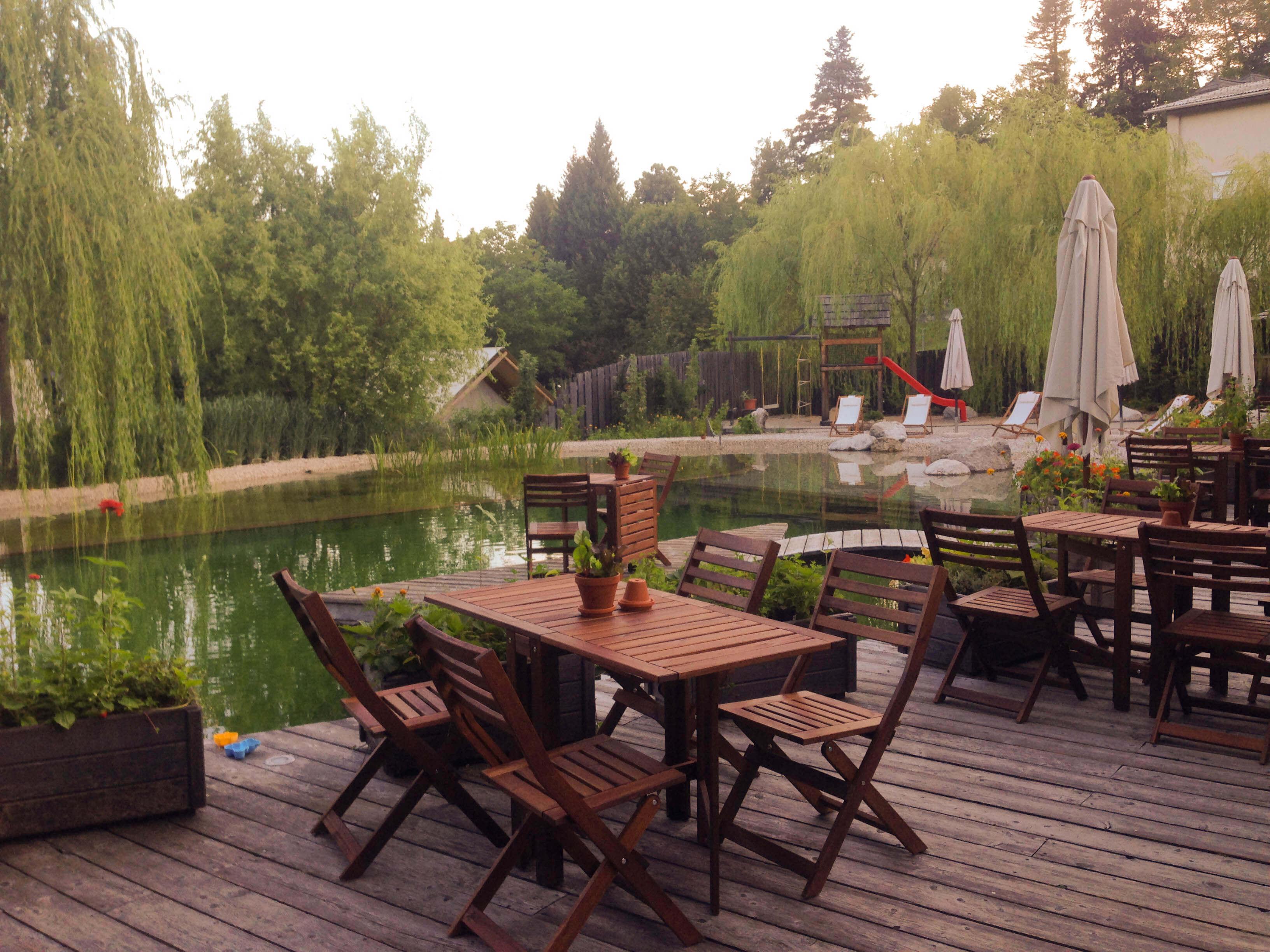 Greenhouse restaurant at Garden Village Bled