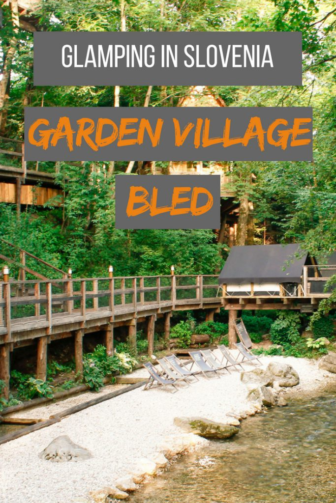 Glamping in Slovenia: Garden Village Bled