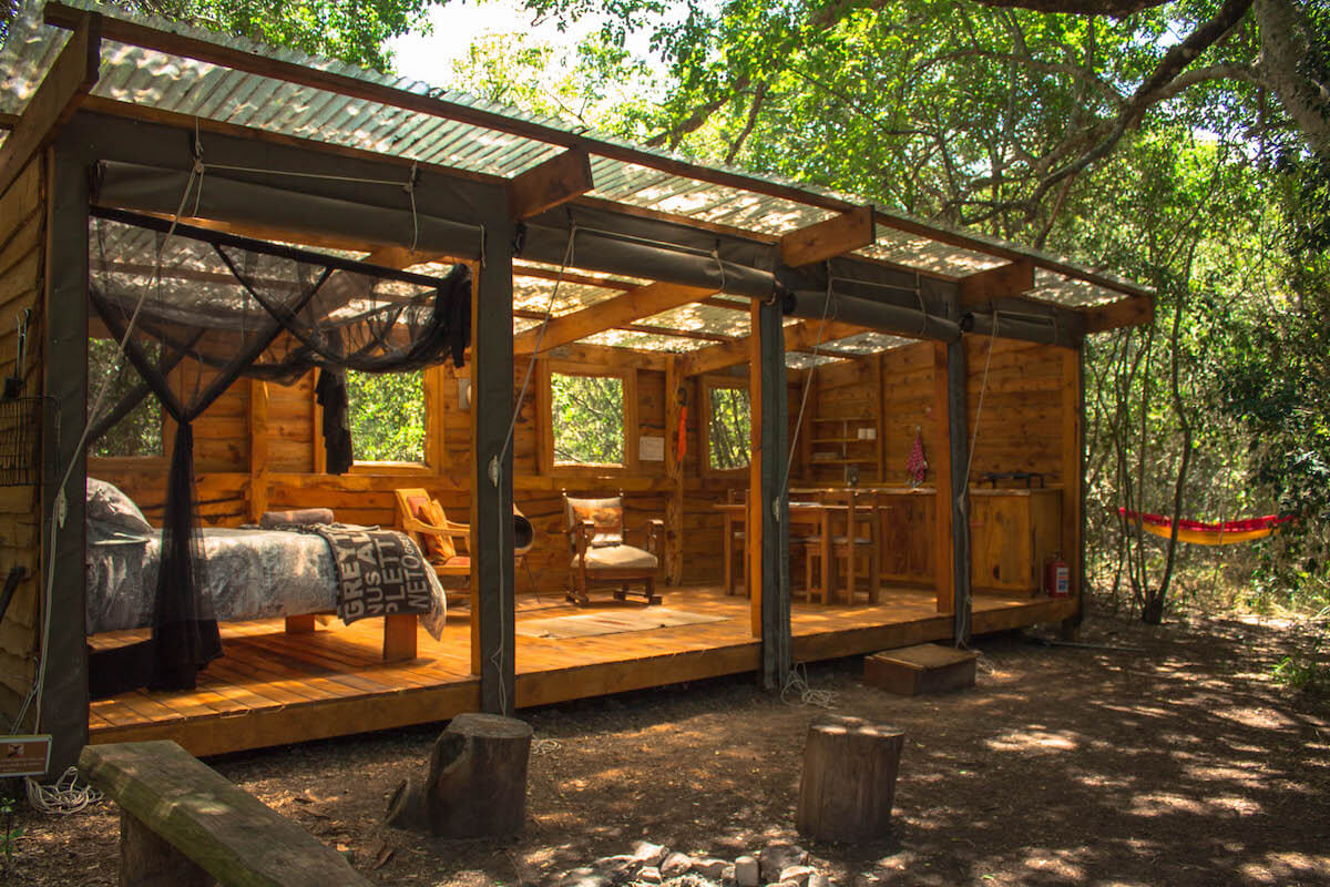 Sleeping in the Platbos Forest: Bush Buck Suite