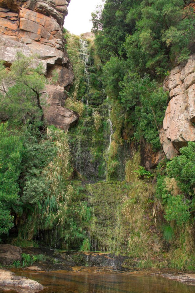 The algeria Waterfall