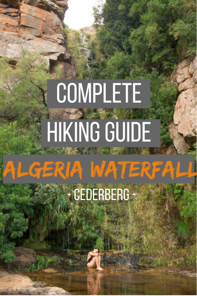 Complete hiking guide: Algeria Waterfall, Cederberg