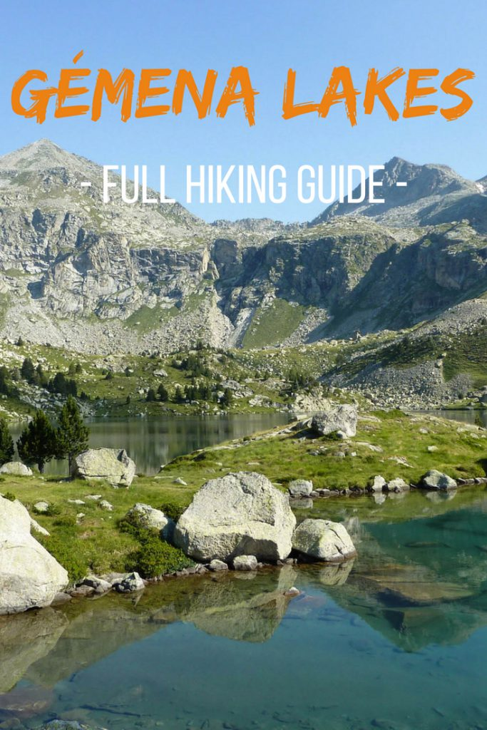 Gémena lakes full hiking guide