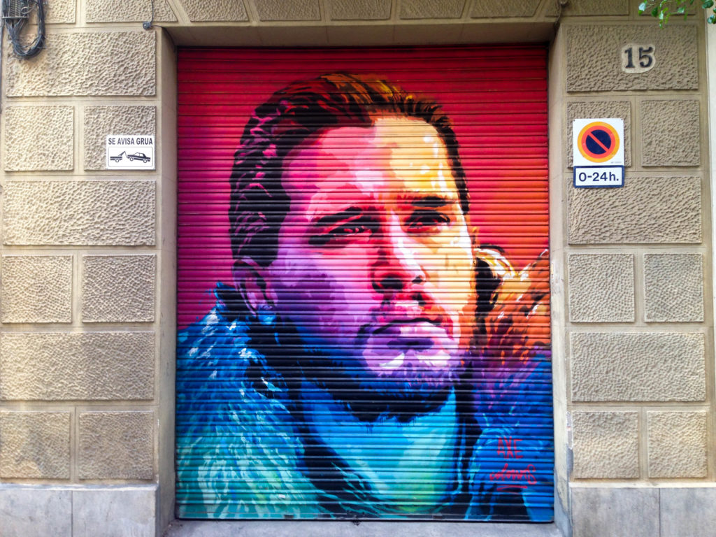 101 things to do in Barcelona: John Snow graffiti