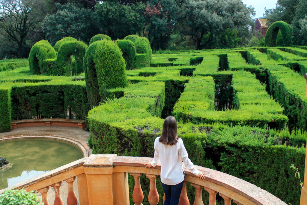 101 things to do in Barcelona: Horta Maze