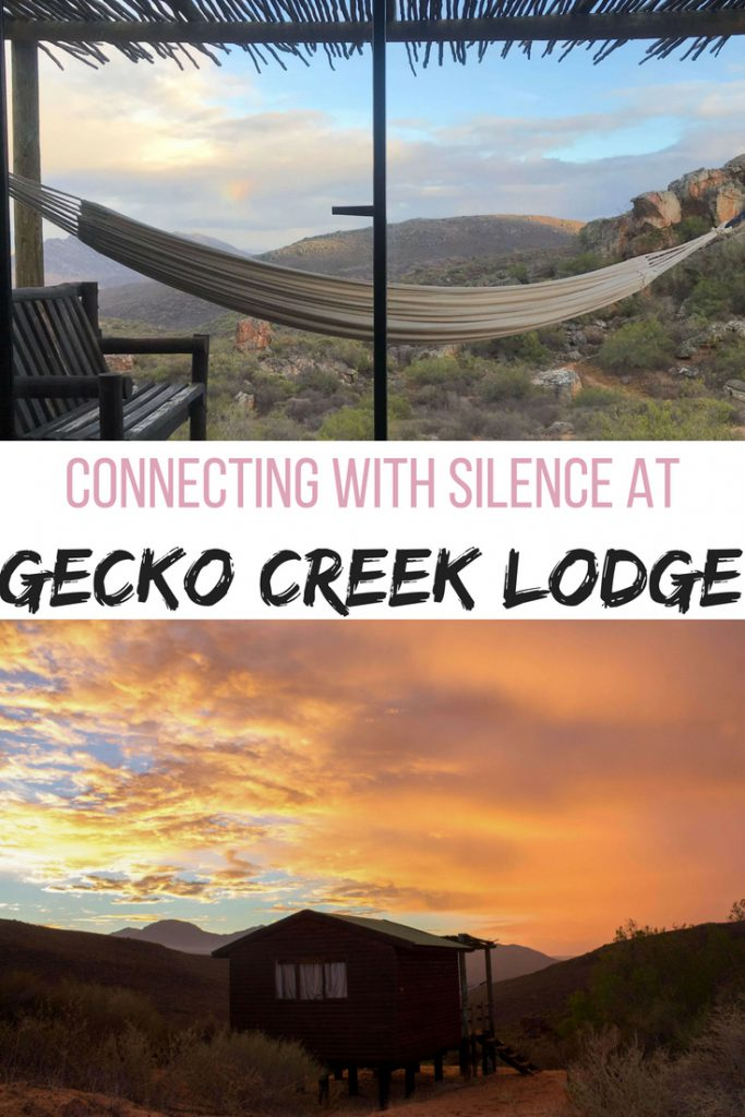 Connecting with silence at Gecko Creek