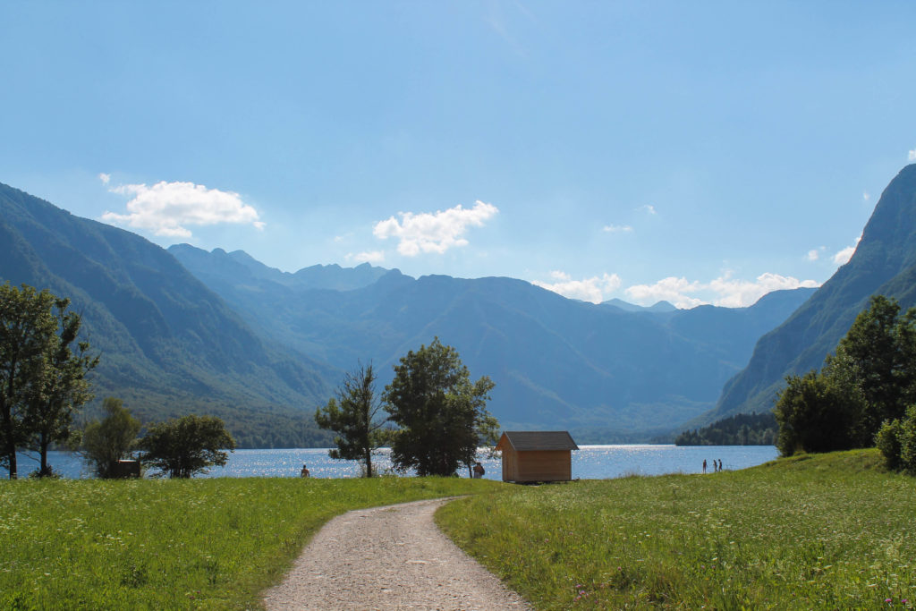 One week itinerary in Slovenia: lake Bohinj