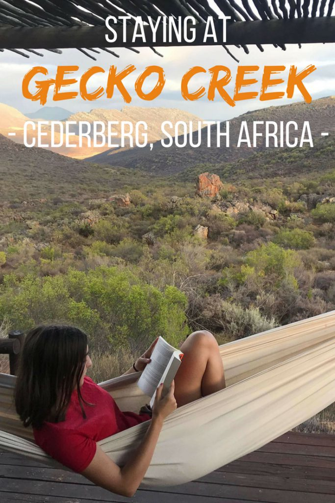Staying at Gecko Creek