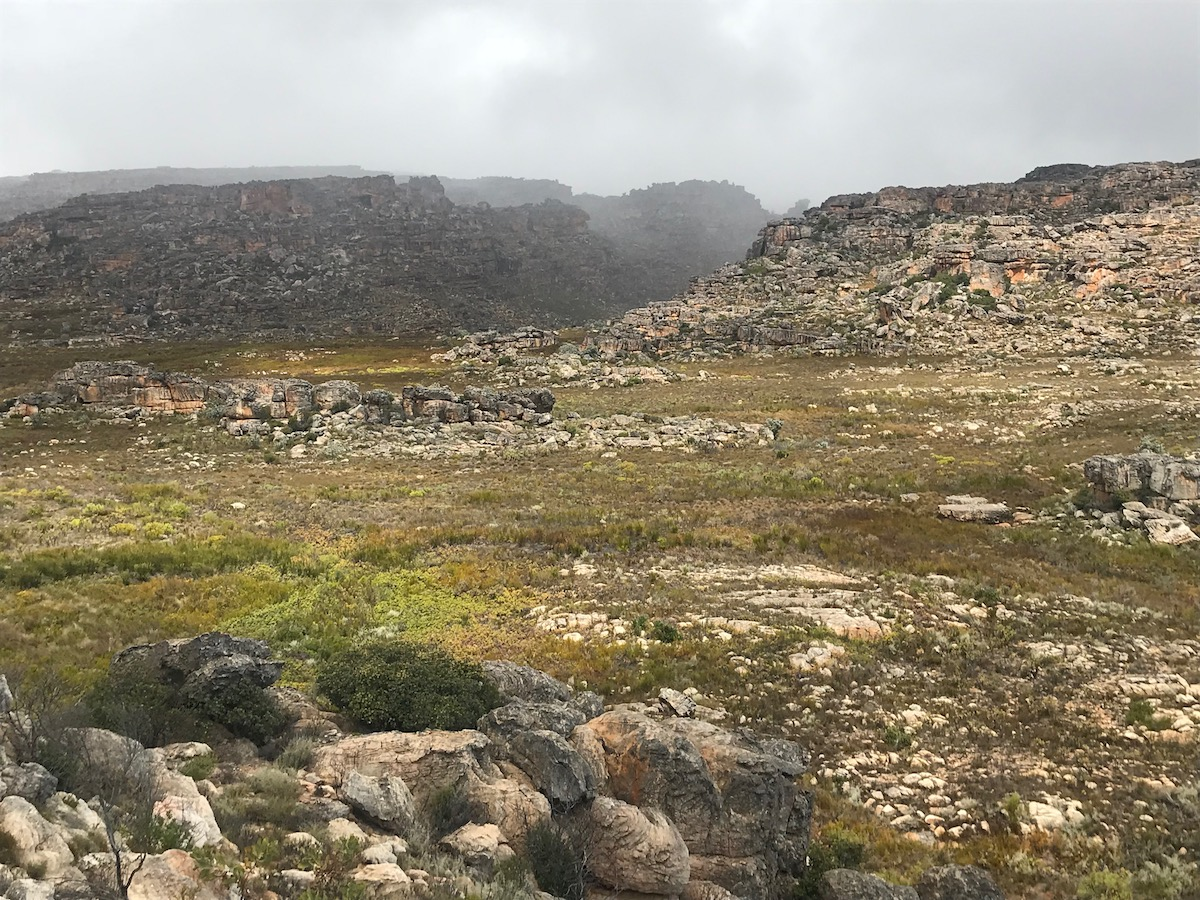 Pakhuispass in the Cederberg, South Africa