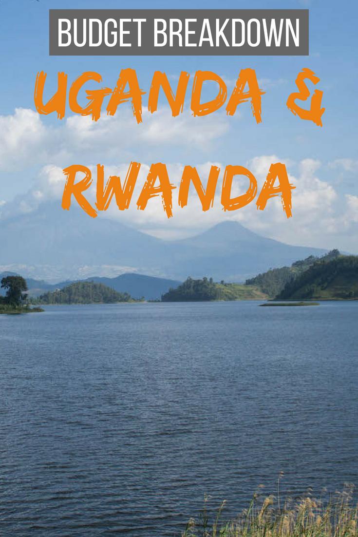 Budget breakdown Uganda and Rwanda