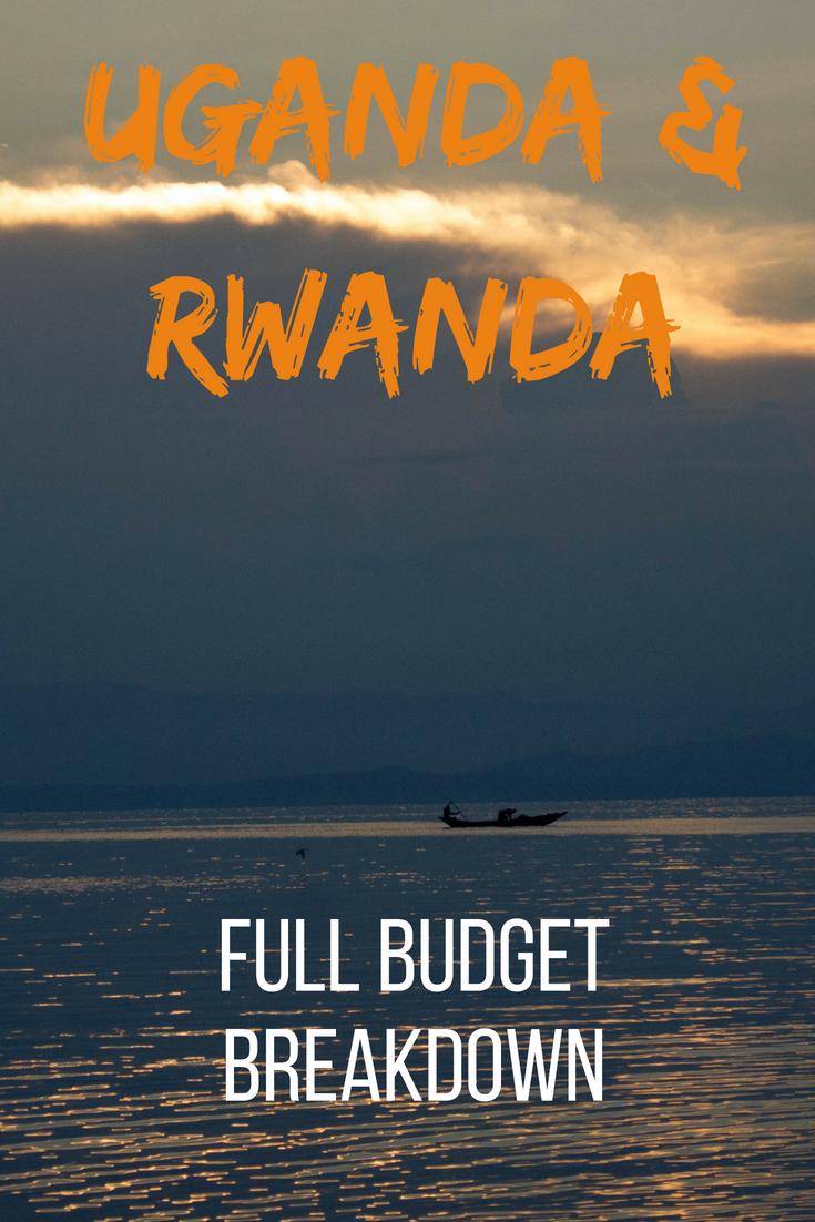 Uganda & Rwanda full budget breakdown