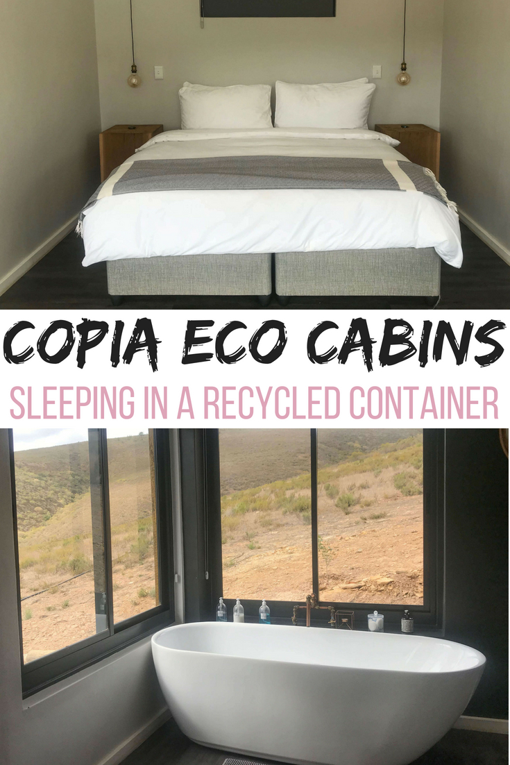 Copia Eco Cabins: sleeping in a recycled container