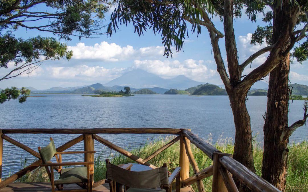 Common areas at Mutanda Lake Resort